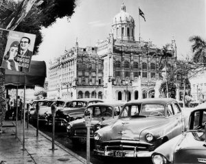 Former president Machado's palace in sept 1958